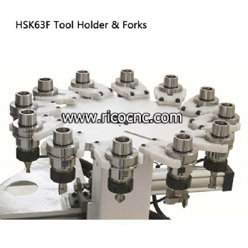 CNC Tool Clips HSK63F Toolholder Forks for Tool Changer Replacement