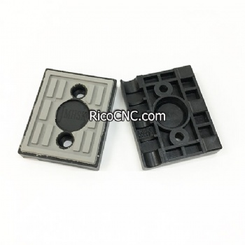 98x80mm Homag Tracking Pads with One Side Half Arc R8mm